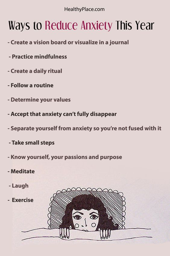 ways to reduce anxiety