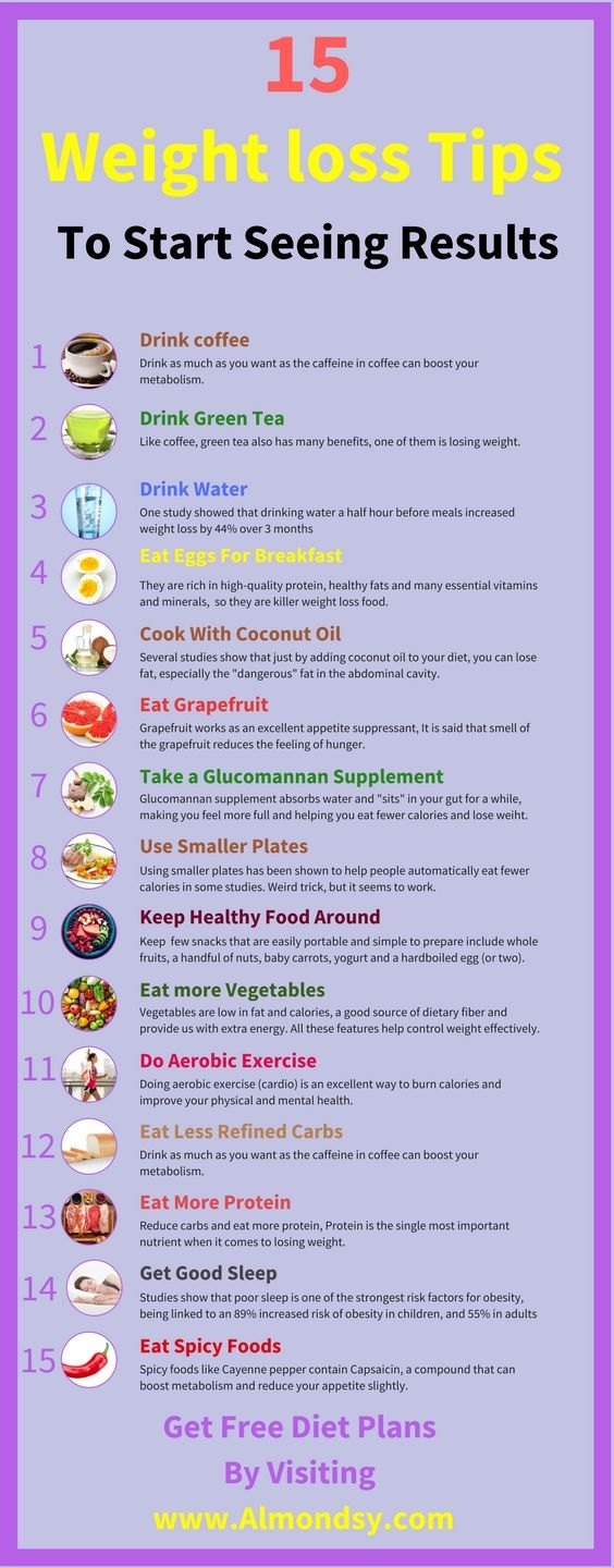weight loss tips to start seeing results