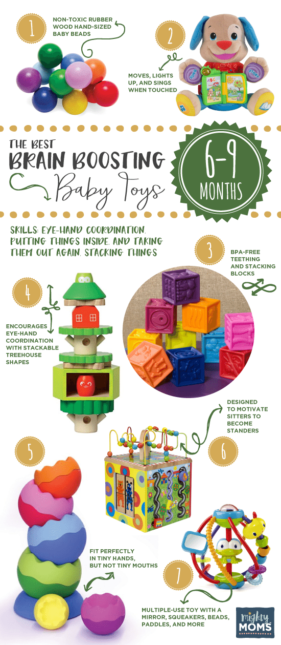 Brain boosting baby toys 6 to 9 months