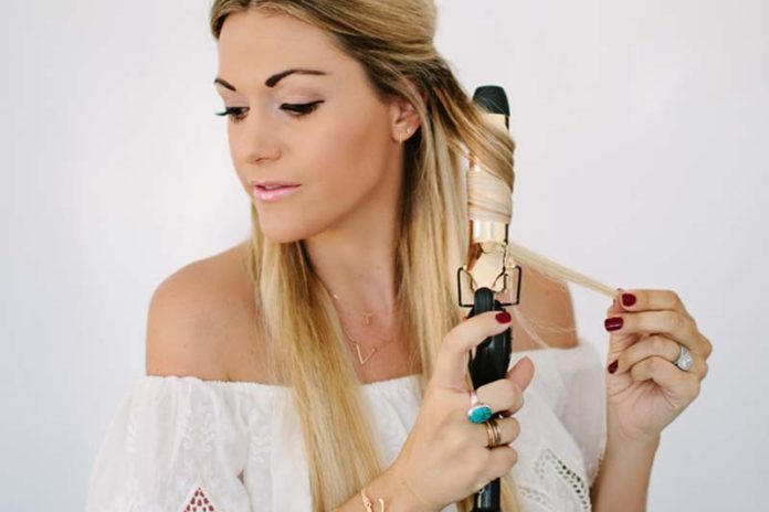 How To Use A Small Curling Iron Transform Your Already Curly Hair Photos