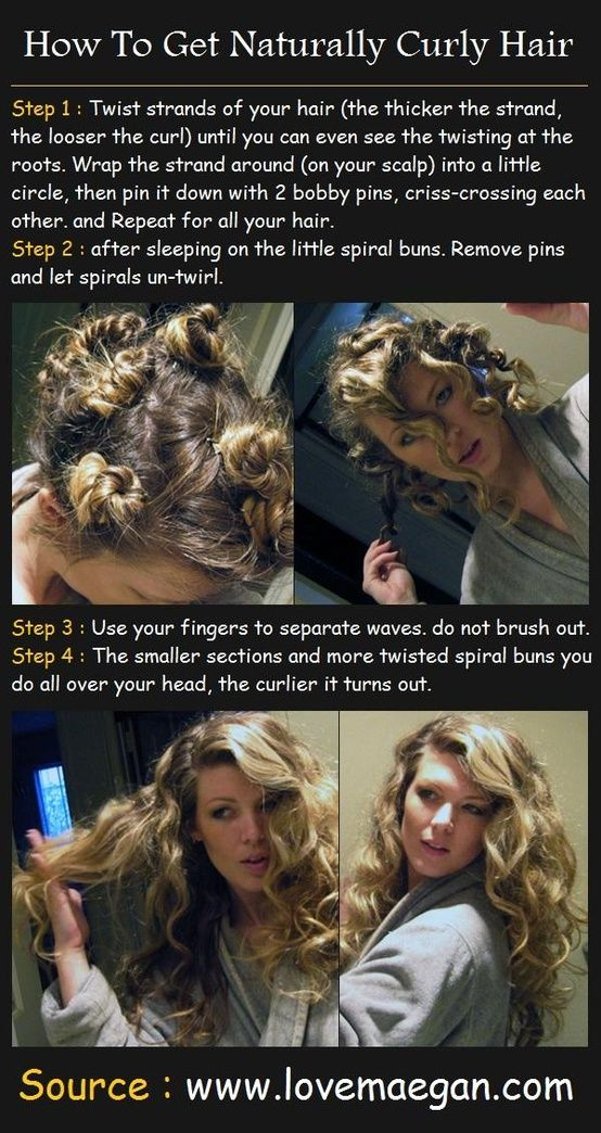 How to get naturally curly hair