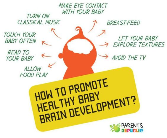 how to promote healthy baby brain development
