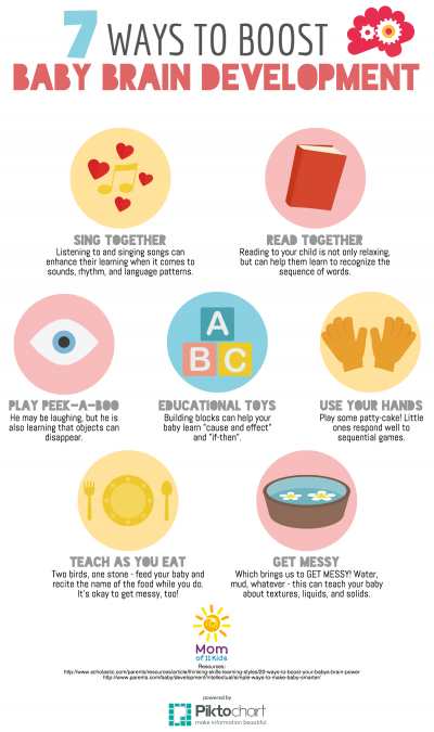 ways to boost baby brain development