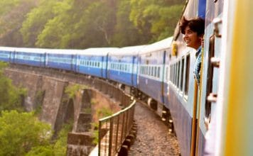 5 Ways to stay entertained on a long train ride