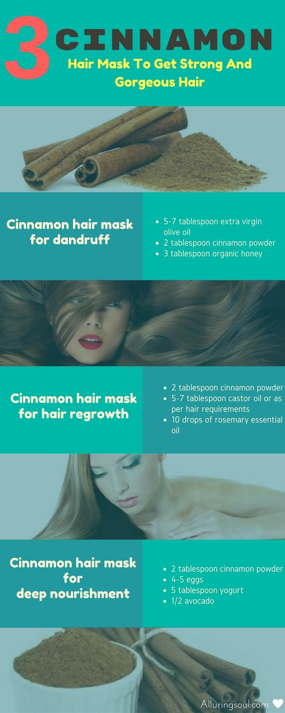 Cinnamon for Strong and Gorgeous Hair