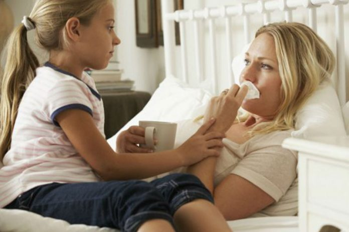 Practical Childcare tips for Mom when she is sick