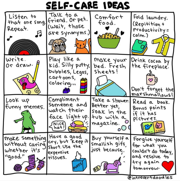 Self Care Ideas