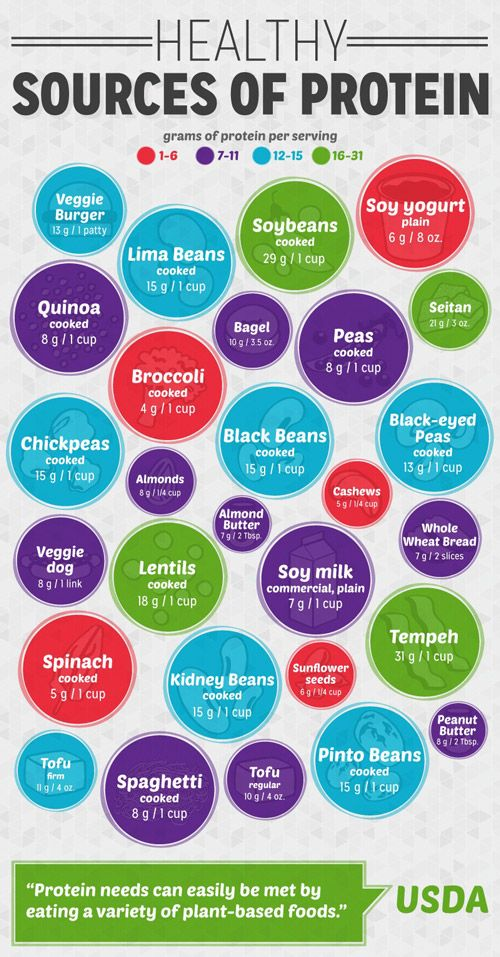 healthy sources of protein