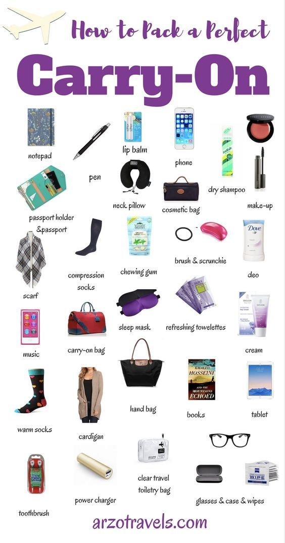 How to Pack a Perfect Carry On