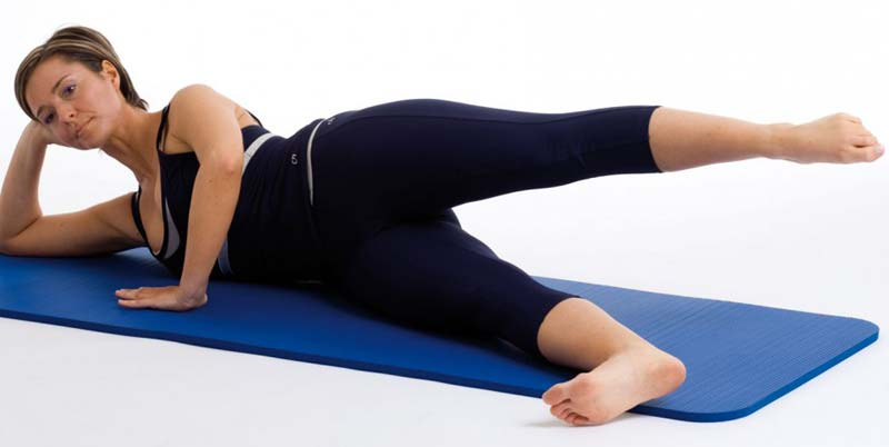 Pilates - Side Kick