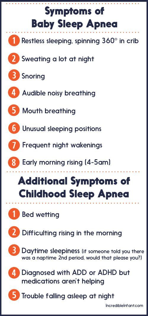 Symptoms of Baby Sleep Apnea