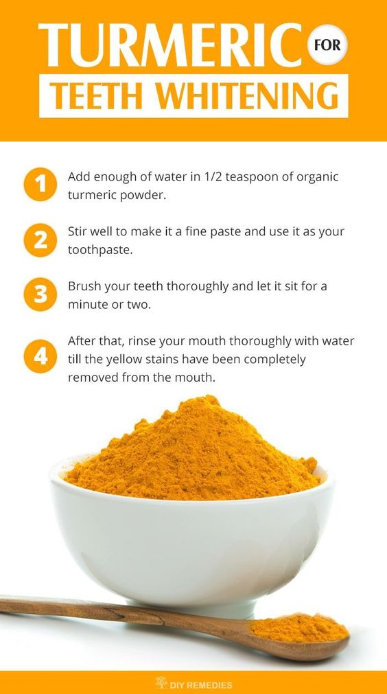 Turmeric for Teeth Whitening