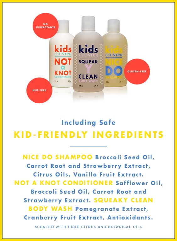kids friendly ingredients