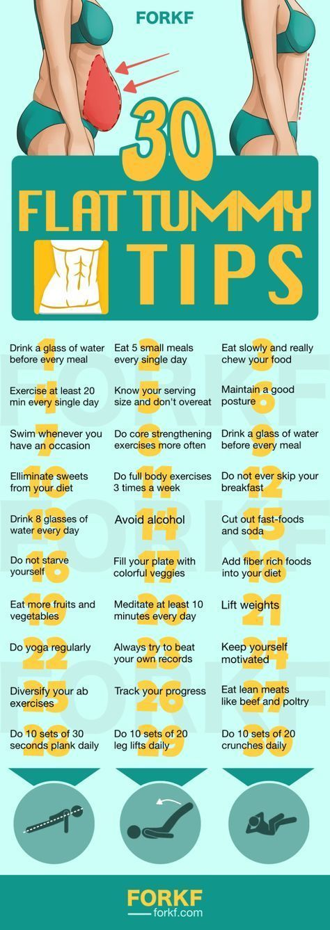 Flat Tummy Tips
