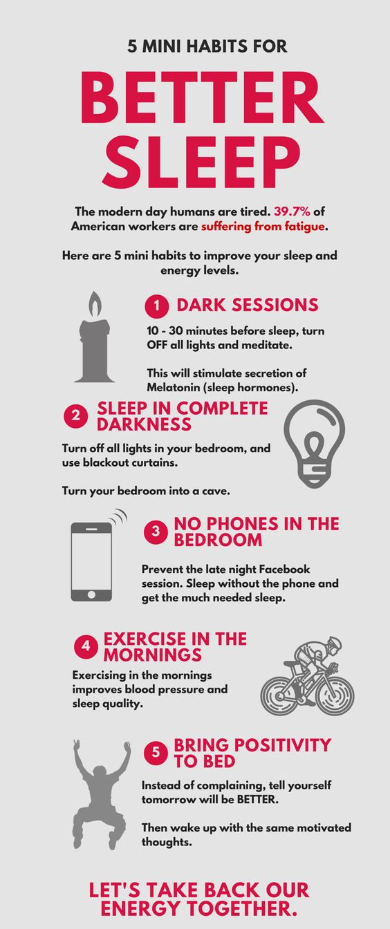 Mini Habits for Better Sleep