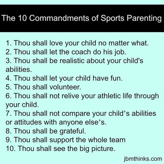 Sports Parenting