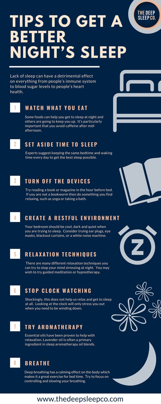 Tips to Get a Better Night Sleep