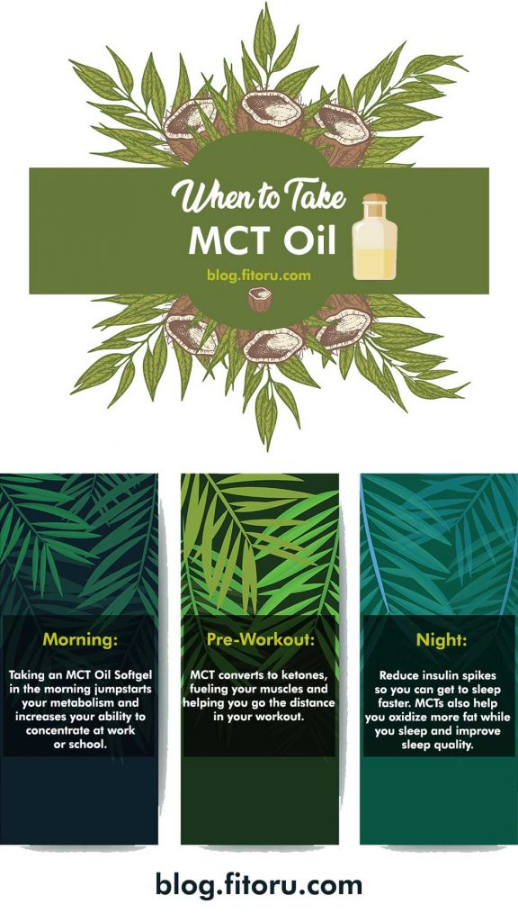 When to take MCT Oil