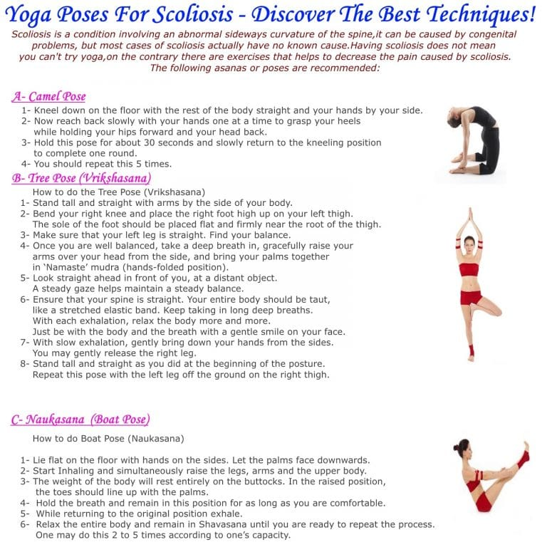 scoliosis yoga poses - 768×768