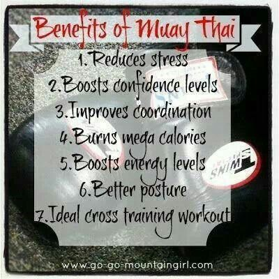 Benefits of Muay Thai