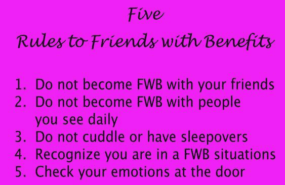 Rules for Friends with Benefits