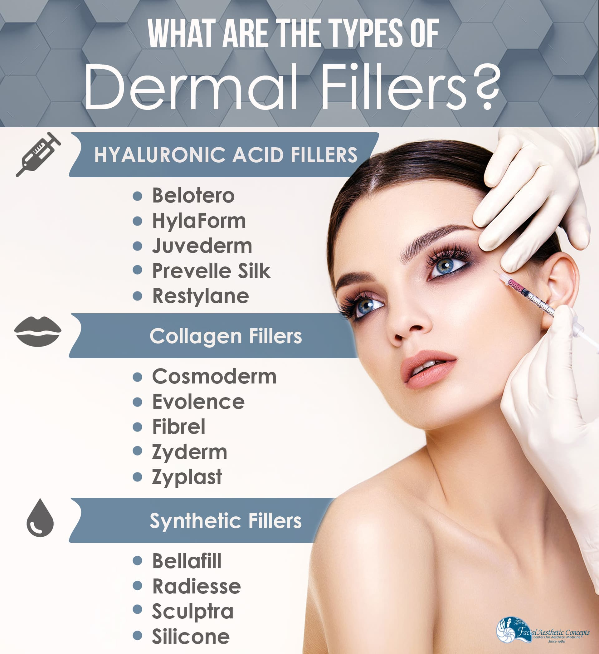 What Are the Types of Dermal Fillers