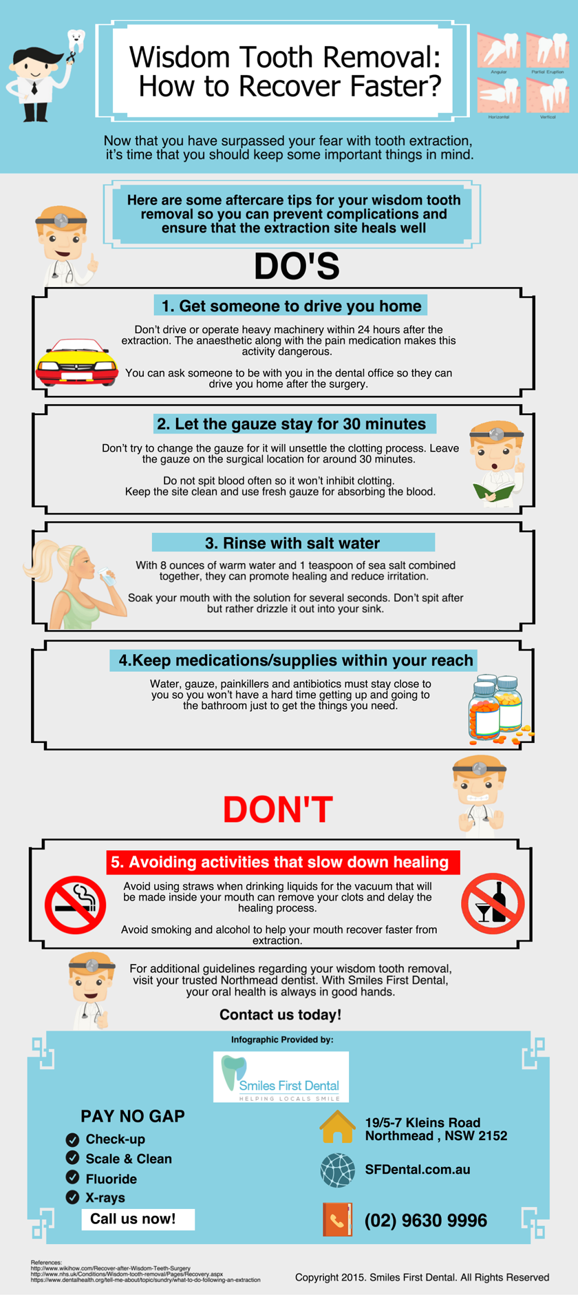 Tips To Help You Recover After Wisdom Tooth Extraction Women Fitness Magazine