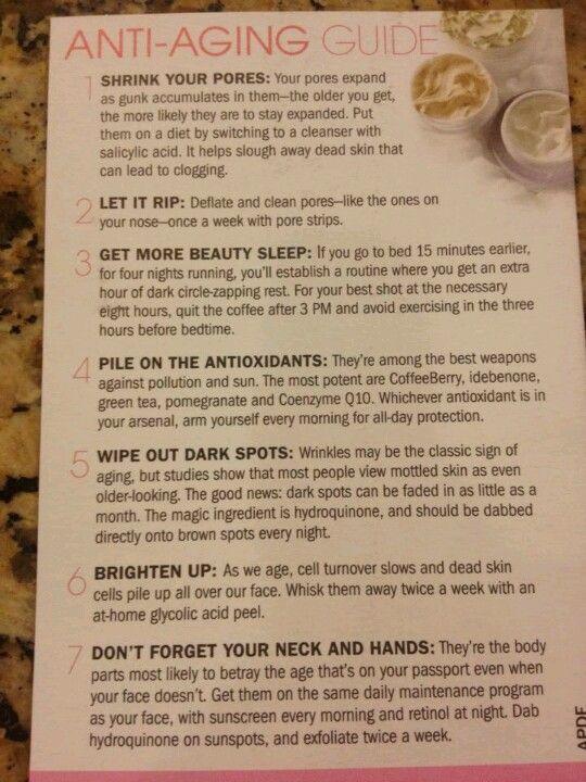 Anti Aging Guide