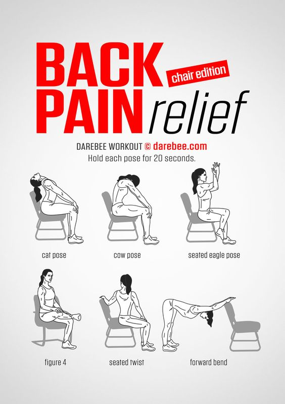 Back Pain Relief Chair Edition