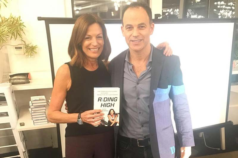 Ruth Zukerman, Co-founder of Flywheel and Soulcycle and Steven Cohen, CEO of Nomadworks