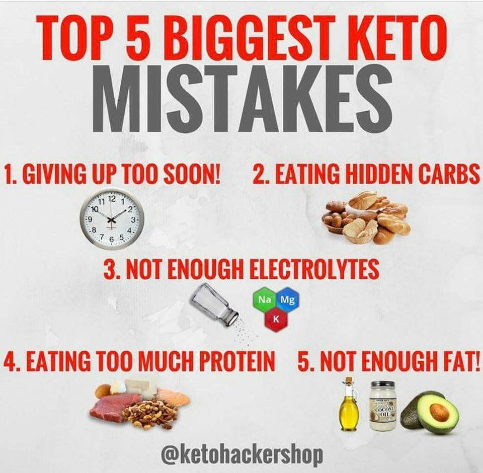Biggest Keto Mistakes