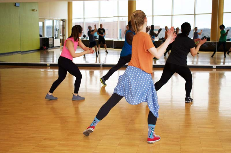A quality zumba trainer is the heart of the zumba class. Chose the person who is positive and friendly.