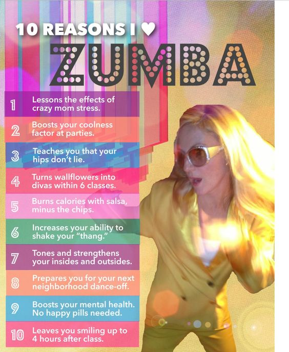Reasons for Zumba