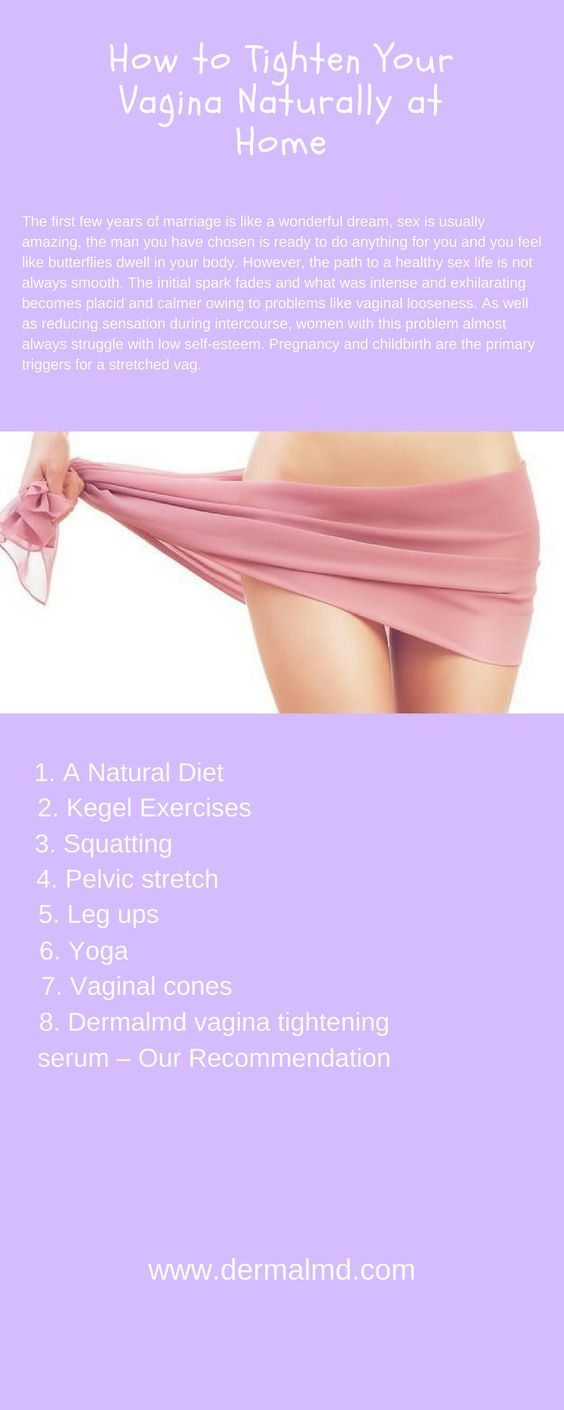 How to tighten your Vagina naturally at Home