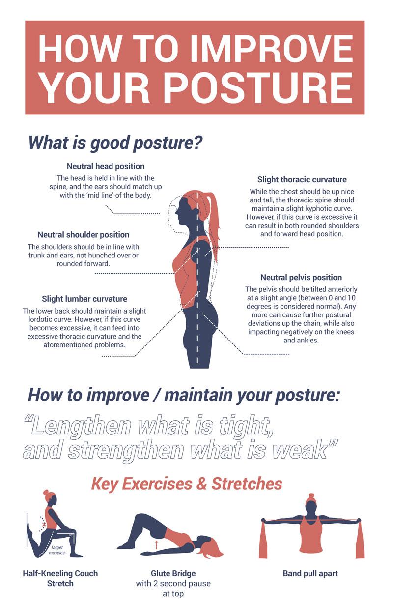 Ways to improve posture