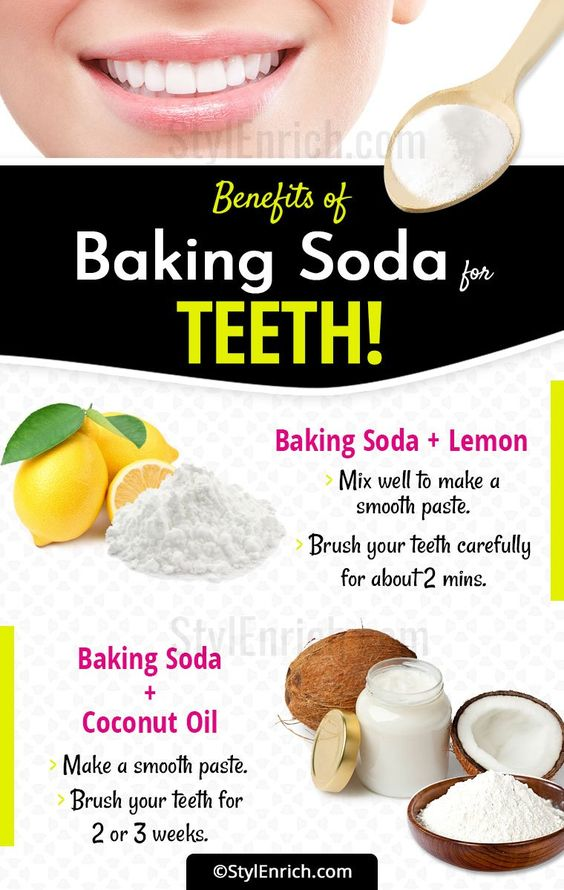 Benefits of Baking Soda for teeth