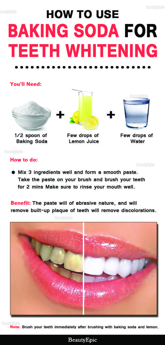 How to use Baking Soda for teeth whitening
