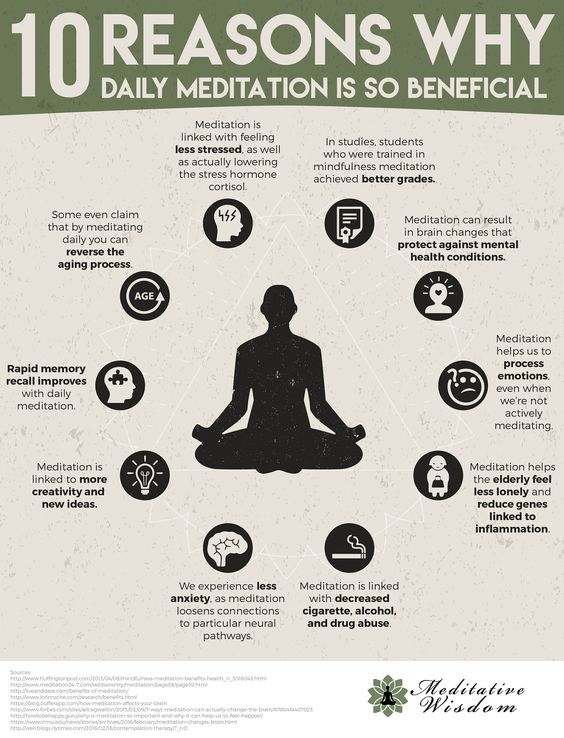 Reasons why Daily Meditation is so beneficial