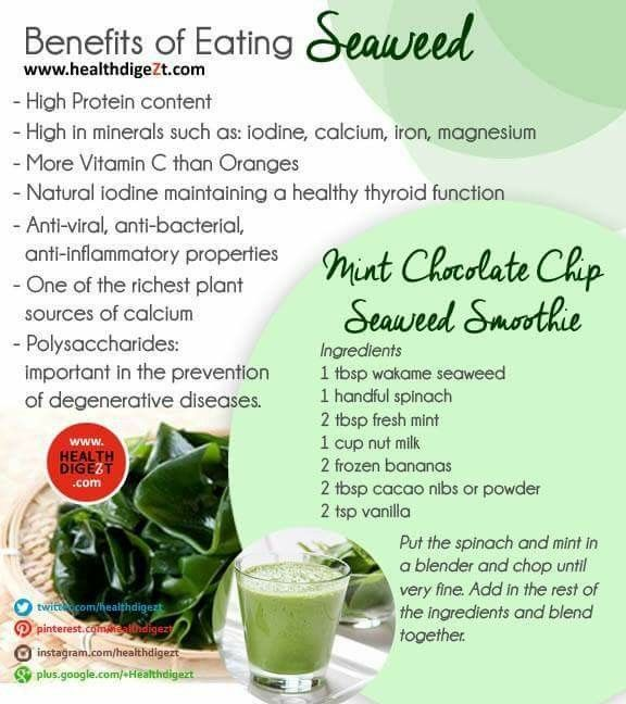 Benefits of eating Seaweed