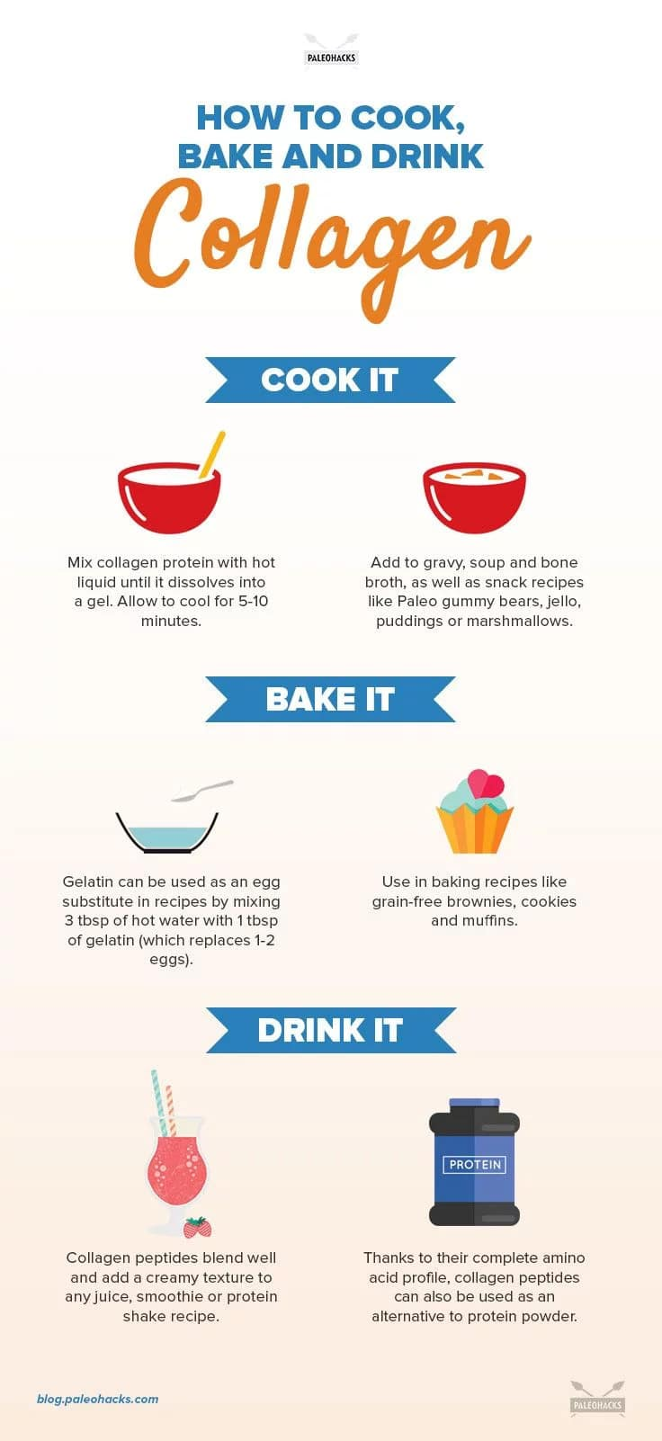 How to Cook Bake and Drink Collagen