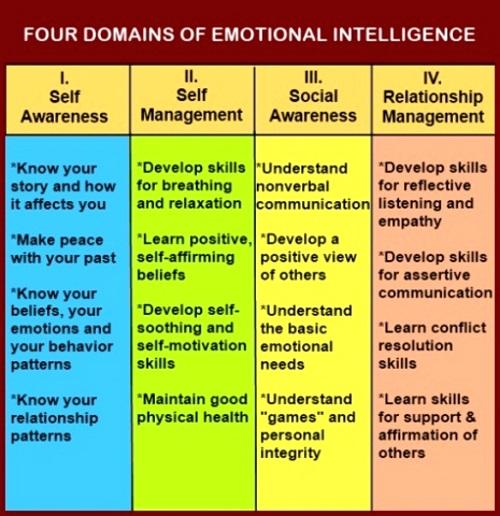 domains of emotional intelligence