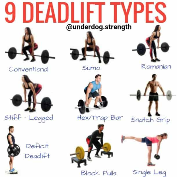 Deadlift Types