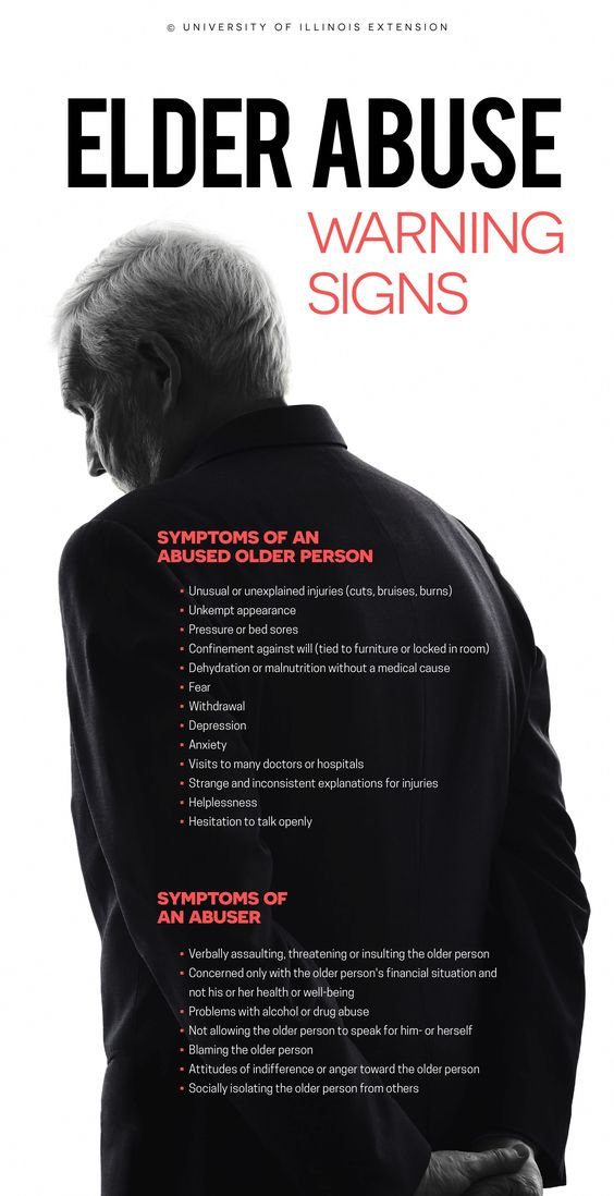 Elder Abuse Warning signs