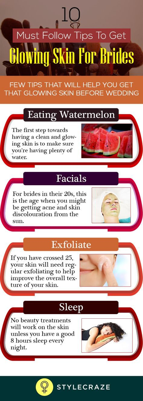 Glowing Skin for Brides