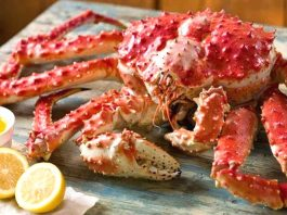 How much valuable the Alaskan king crab