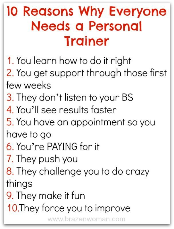 Reasons Why Everyone Needs a Personal Trainer