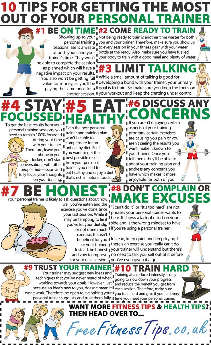 Tips For Getting The Most Out Of Your Personal Trainer