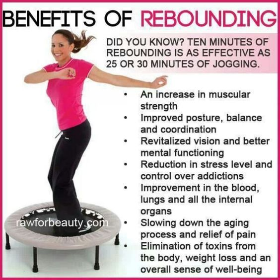 Benefits of Rebounding