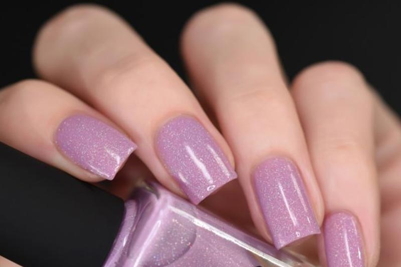 Lilac Nail Paint Color