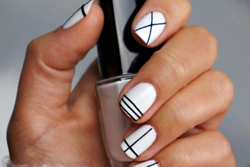 White Nail Paint Color